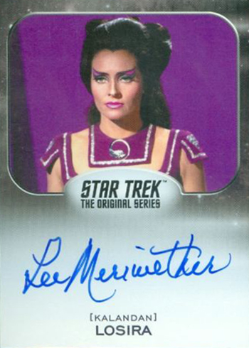 2017 Rittenhouse Star Trek 50th Anniversary Lee Meriwether Autograph