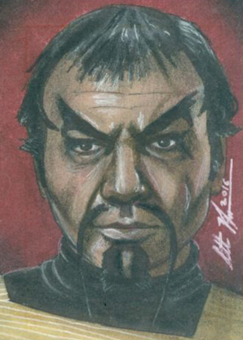 2017 Rittenhouse Star Trek 50th Anniversary Sketch Card