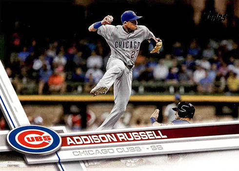 2017 T 263 Addison Russell
