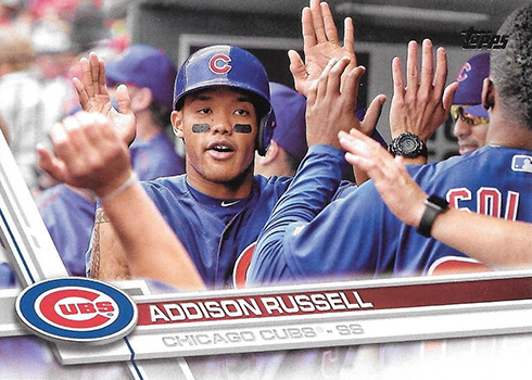 2017 T Var 263 Addison Russell