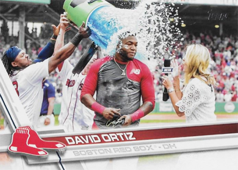 2017 T Var 350 David Ortiz Gatorade