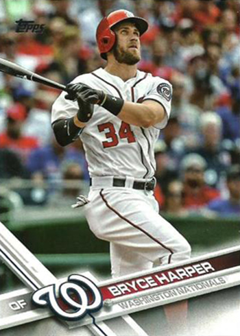 2017 Topps 34 Bryce Harper