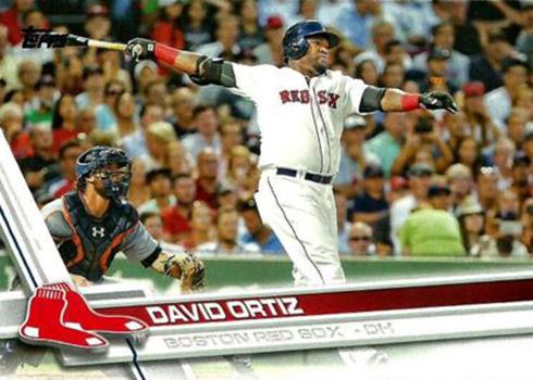 2017 Topps 350 David Ortiz