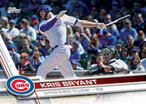 2017 Topps Baseball Base Kris Bryant