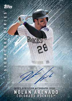 2017 Topps Bunt Baseball Signature Series