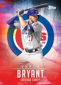 2017 Topps Bunt Baseball Vapor