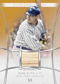 2017 Topps Diamond Icons Baseball Relic Ruth