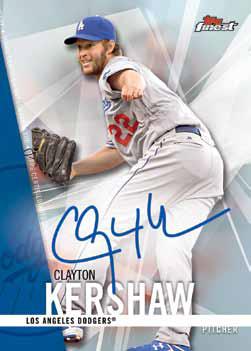 2017 Topps Finest Baseball Finest Autographs
