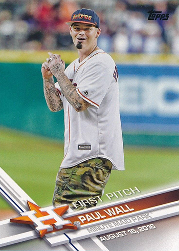 2017 Topps First Pitch 11 Paul Wall