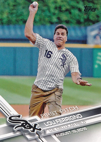 2017 Topps First Pitch 16 Lou Ferrigno