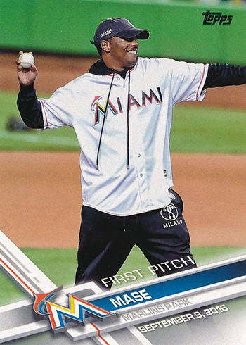 2017 Topps First Pitch 23 Mase