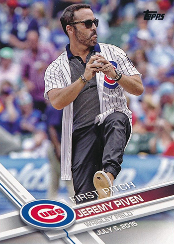 2017 Topps First Pitch 4 Michael Piven