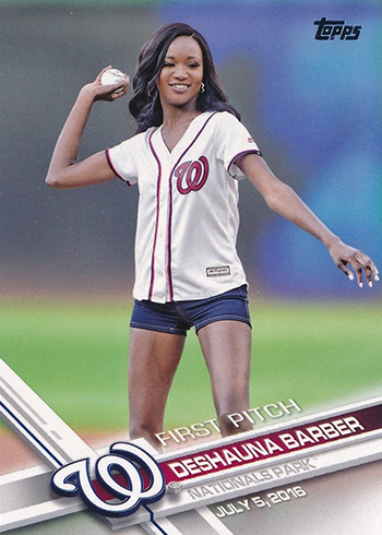 2017 Topps First Pitch 5 Deshauna Barber