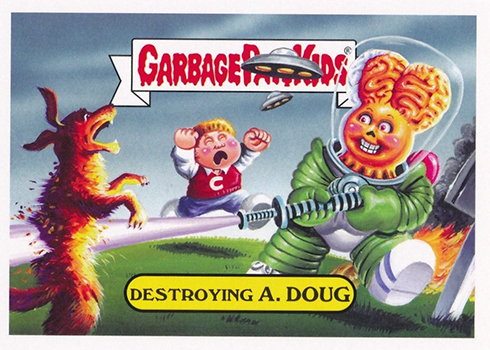 2017 Topps Garbage Pail Kids Adam-geddon Base Alien Invasion