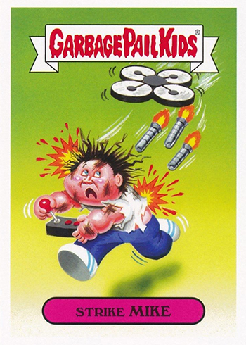 2017 Topps Garbage Pail Kids Adam-geddon Base Bio and Tech