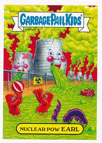 2017 Topps Garbage Pail Kids Adam-geddon Base Pollution