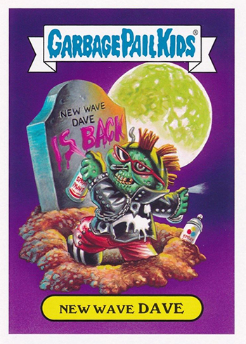 2017 Topps Garbage Pail Kids Adam-geddon Monsters