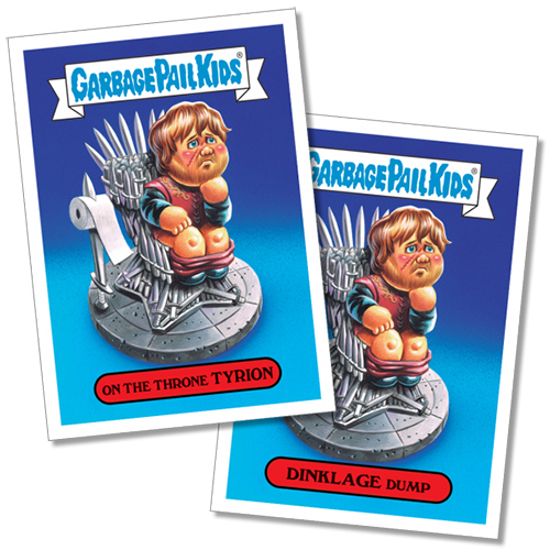 2017 Topps Garbage Pail Kids Golden Groans 5