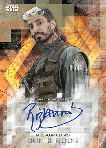 2017 Topps Star Wars Rogue One Series 2 Autographs Riz Ahmed