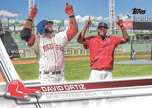 2017 Topps Variations 350 David Ortiz LEGO