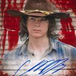 2017 Topps Walking Dead Season 6 Autograph Blood