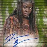 2017 Topps Walking Dead Season 6 Autograph Mold B
