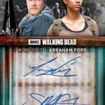 2017 Topps Walking Dead Season 6 Dual Autograph