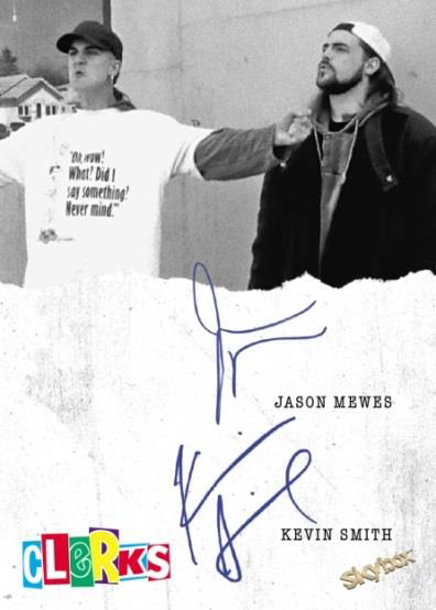 2017 Upper Deck Clerks Jay and Silent Bob Dual Autograph