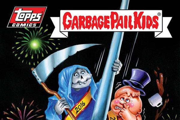 Garbage Pail Kids Comics 1 header