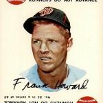 1968 Topps Game 21 Frank Howard