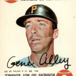 1968 Topps Game 25 Gene Alley