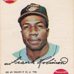 1968 Topps Game 7 Frank Robinson