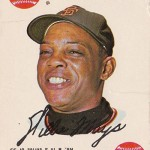 1968 Topps Game 8 Willie Mays