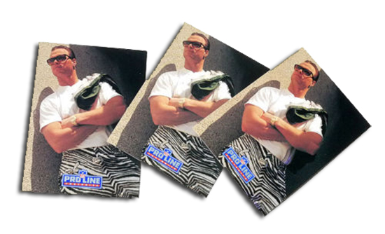 1991 Pro Line Portraits Jim McMahon