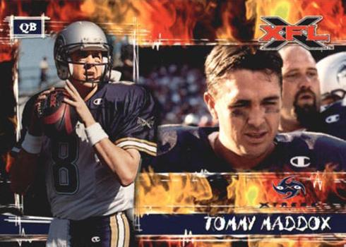 2001 Topps XFL Base Tommy Maddox