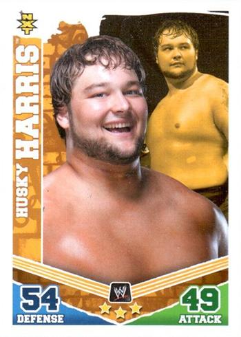 2010 Topps Slam Attax Mayhem WWE Husky Harris