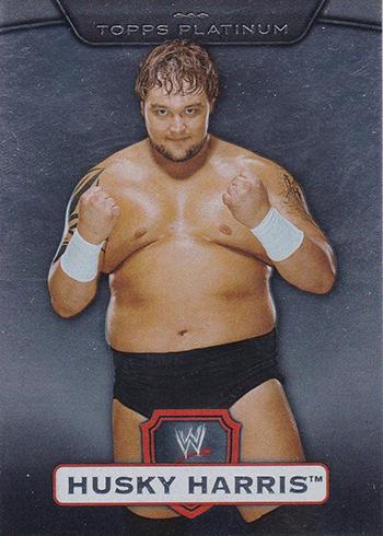2010 Topps WWE Platinum Husky Harris