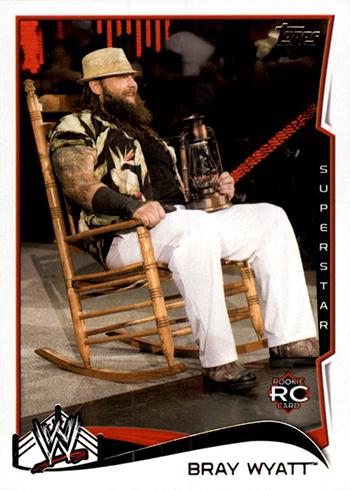 2014 Topps WWE Bray Wyatt