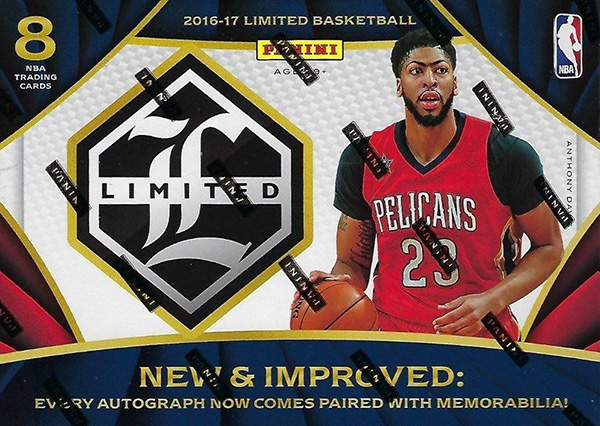 2016-17 Panini Limited Basketball Hobby Box