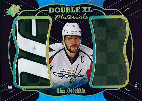 2016-17 SPx Hockey Double XL Materials Alexander Ovechkin 10