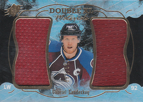 2016-17 SPx Hockey Double XL Materials Gabriel Landeskog