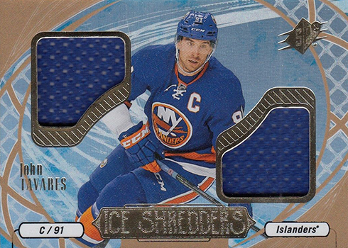 2016-17 SPx Hockey Ice Shredders Johnn Tavares