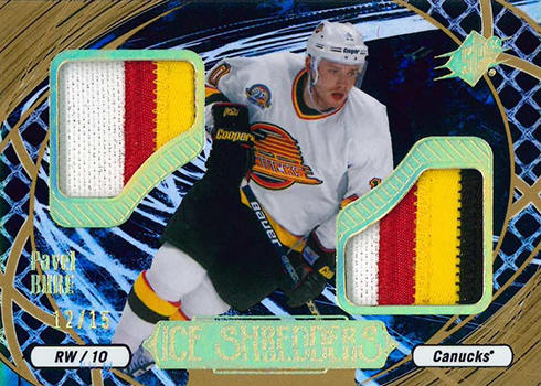 2016-17 SPx Hockey Ice Shredders Pavel Bure 15