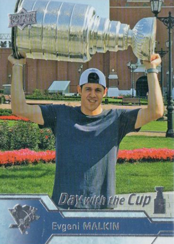 2016-17 Upper Deck Series 2 Hockey Day with the Cup Evgeni Malkin