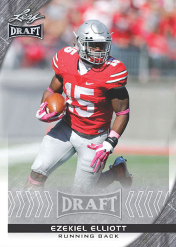2016 Leaf Draft Football Ezekiel Elliott