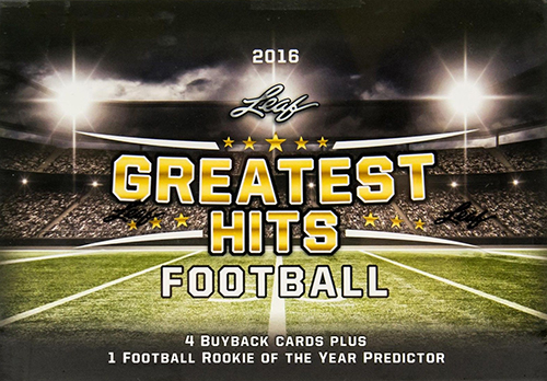 2016 Leaf Greatest Hits Football