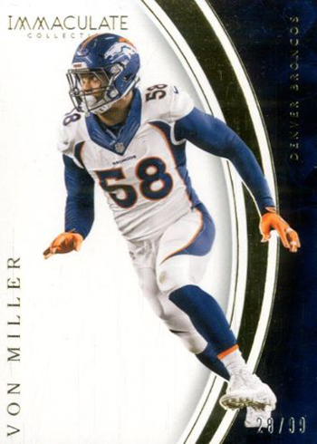 2016 Panini Immaculate Football Base Von Miller