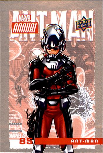 2016 Upper Deck Marvel Annual Base Ant Man