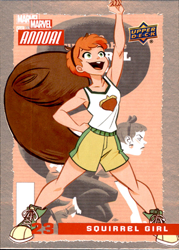 2016 Upper Deck Marvel Annual Base Squirrel Girl