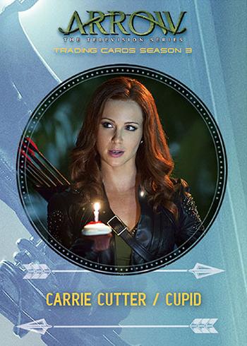 2017 Cryptozoic Arrow Season 3 Characters